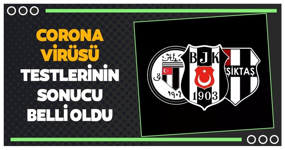 Beşiktaş'ta son dakika corona virüsü gelişmesi