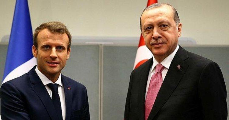 Fransız basını Erdoğan-Macron görüşmesine ilgi gösterdi