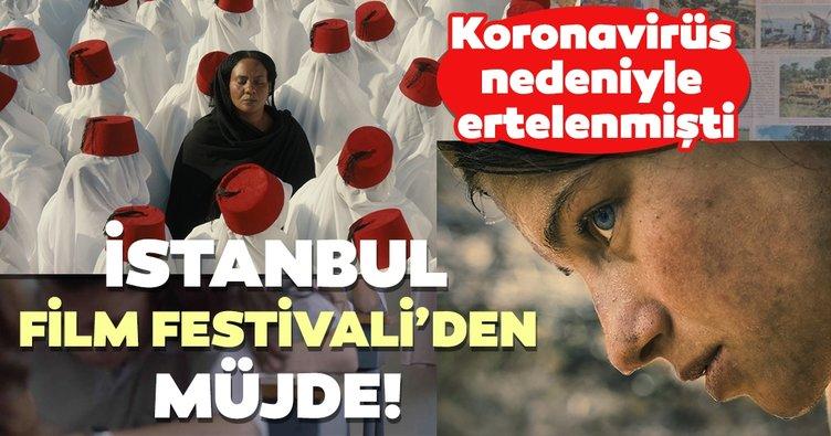 Ertelenen İstanbul Film Festivali'den müjde!