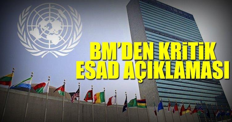BM'den 'Suriye'de krematoryum' açıklaması