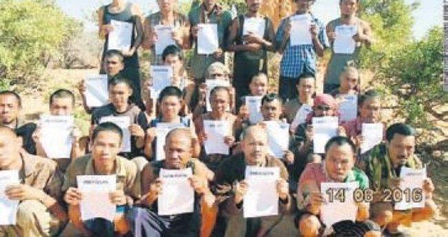 Korsanlar, 5 yıllık esirleri bıraktı