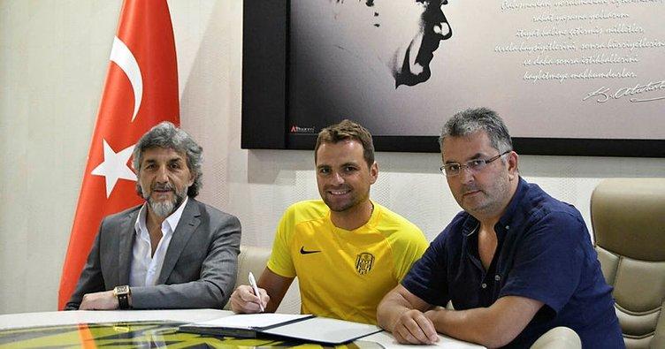 Ankaragücü Ante Kulusic'in sözleşmesini uzattı