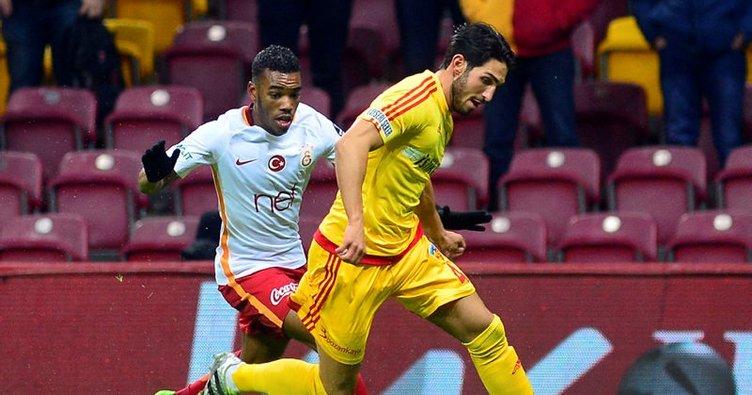 Galatasaray ile Kayserispor 43. maça çıkıyor