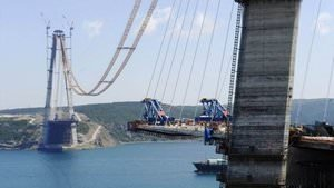 İşte 3. Boğaz Köprüsü'nde son durum