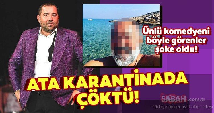 Ata Demirer karantinada çöktü! Ünlü komedyen Ata Demirer'in paylaşımı hayranlarına kısa süreli şok yaşattı!