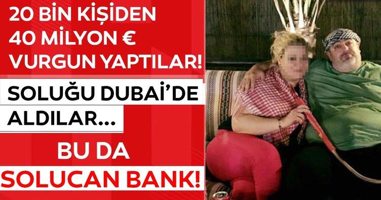 SON DAKİKA HABERİ: Solucan Bank dolandırıcılığıyla 40 milyon €'luk vurgun yapıp Dubai'de günlerini gün ettiler!
