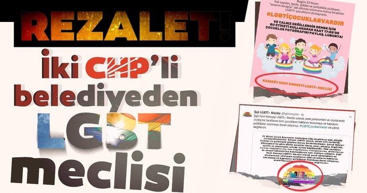 İki CHP'li belediyeden  LGBT meclisi! Bunun adı rezalet