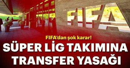 Son dakika: Kayserispor'a transfer yasağı!