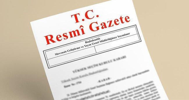 Milletlerarası anlaşmalar resmi gazetede yayımlandı