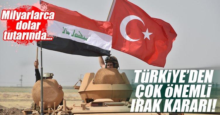 Türkiye'den Irak'a 5 milyar dolar