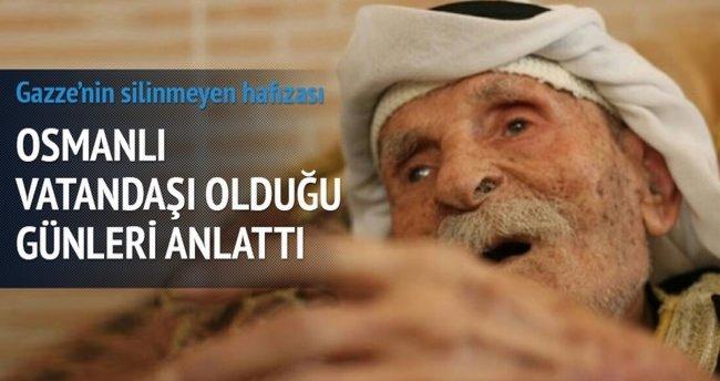 Gazze'nin en yaşlısı hatıralarıyla yaşıyor