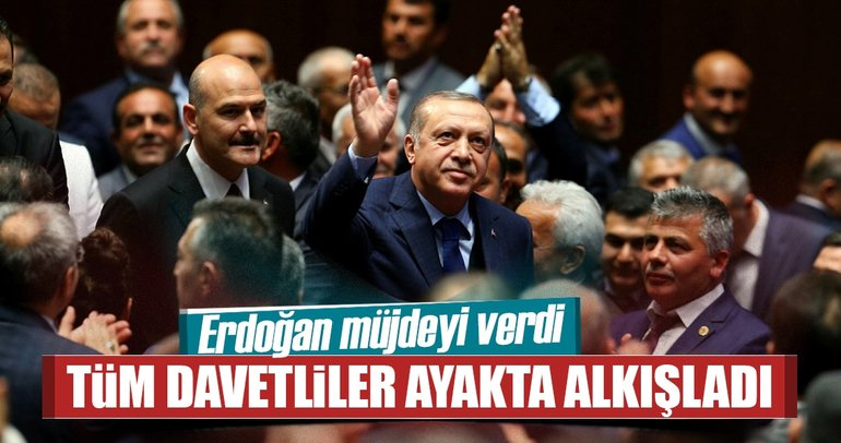 Cumhurbaşkanı Erdoğan'dan muhtar ve koruculara müjde