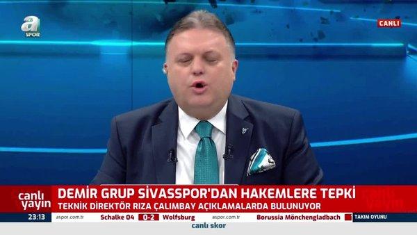 Sivasspor Teknik Direktörü Rıza Çalımbay'dan hakemler için çok sert sözler!
