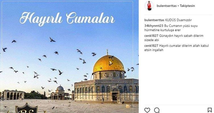 Ünlü isimlerin Instagram paylaşımları (08.12.2017)