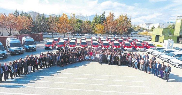 Büyükşehir'in sağlık ordusu