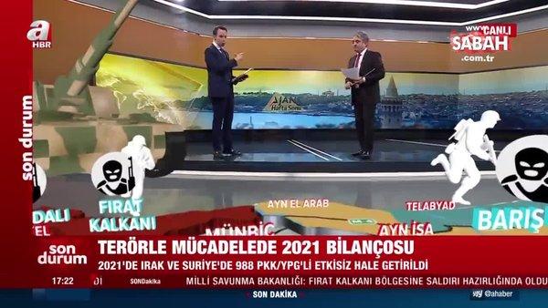 Terörle mücadelede 2021 bilançosu… PKK'nın sonu geliyor! | Video