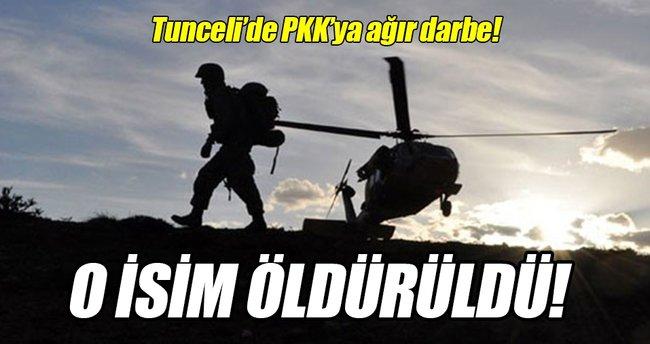 Tunceli'de PKK'ya ağır darbe!