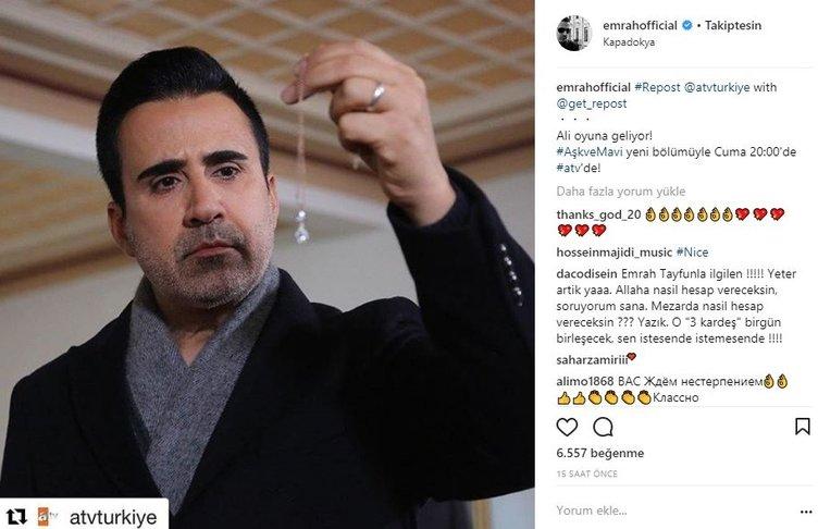 Ünlülerin Instagram paylaşımları (08.02.2018)