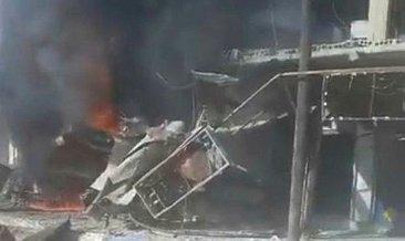 Son dakika: Tel Abyad'da bombalı terör saldırısı: 2 ölü