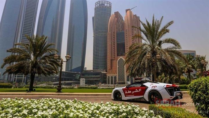 Dubai polisi Lykan HyperSport Special Forces kullanacak! Sadece 7 adet üretildi