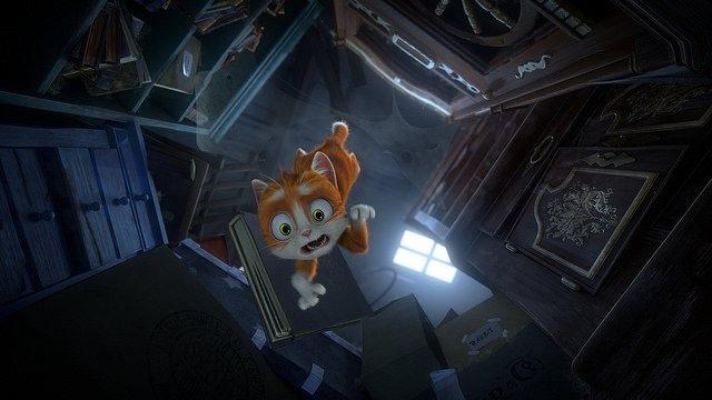 Büyüler Evi: Sihirbaz Kedi filminden kareler