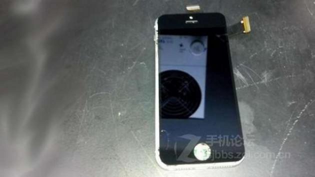 iPhone5S'in görüntüleri internete sızdı