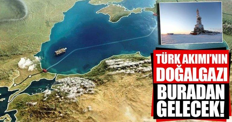 TürkAkım'ın doğalgazı buradan gelecek