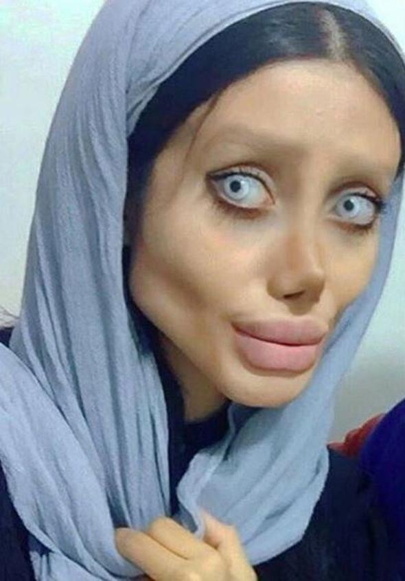Angelina Jolie olmak istedi son hali korkunç!