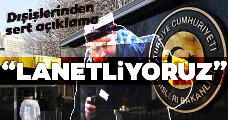 Dışişleri Bakanlığından İsveç'te Kuran-ı Kerim yakılmasına sert tepki