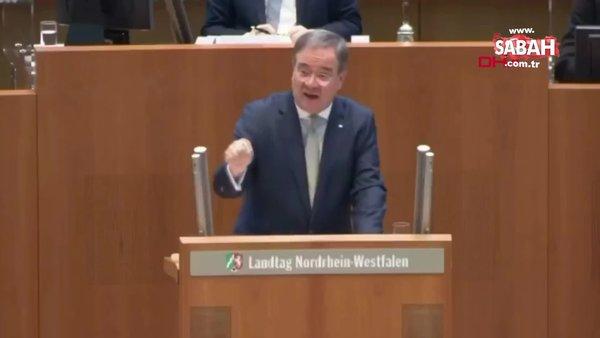 Almanya Meclisi'nde Armin Laschet'ten Prof. Dr. Uğur Şahin'e övgü dolu sözler | Video