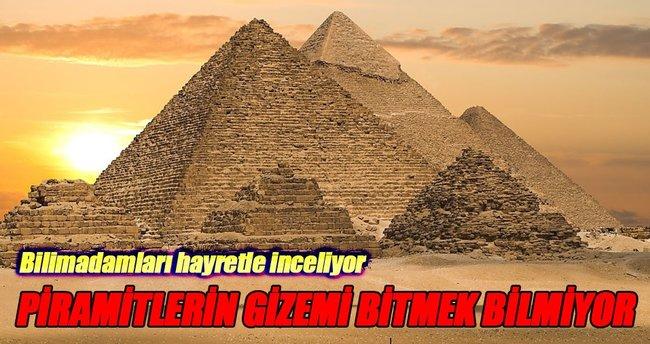 Mısır piramitlerinde iki yeni oda bulundu