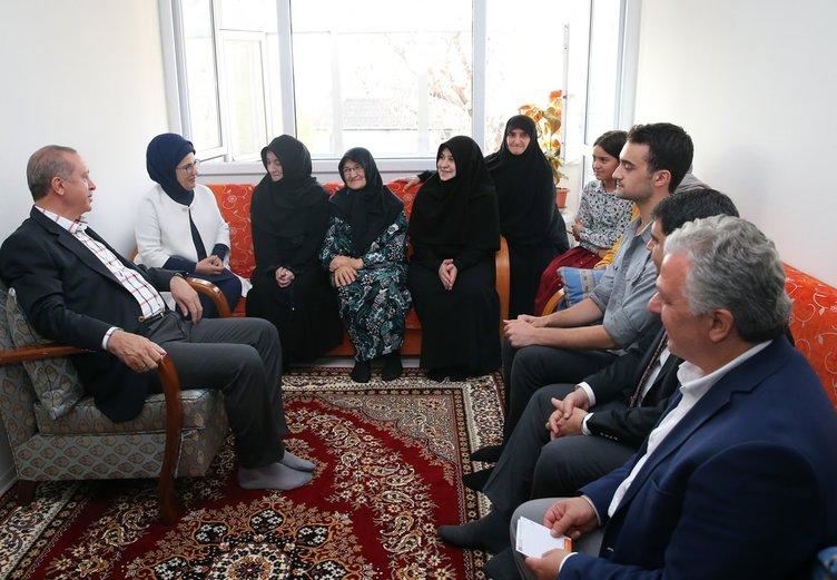 Cumhurbaşkanı Erdoğan'dan anlamlı ziyaret