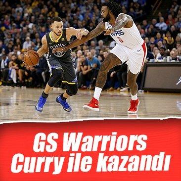 Golden State Warriors, Stephen Curry ile kazandı