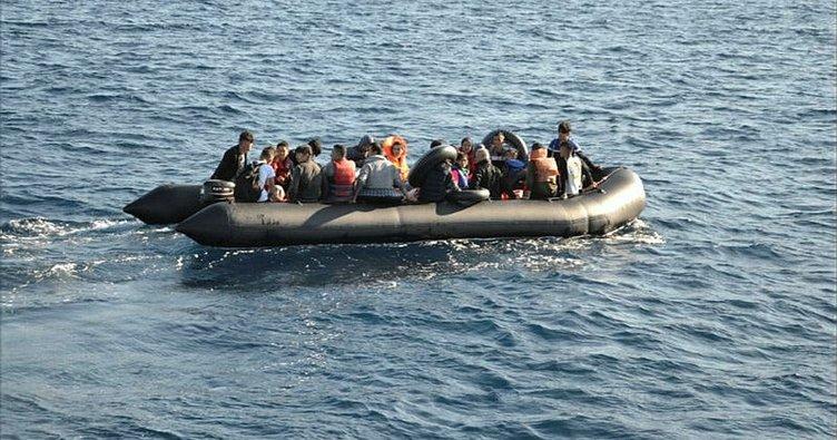 Çanakkale'de 77 düzensiz göçmen yakalandı