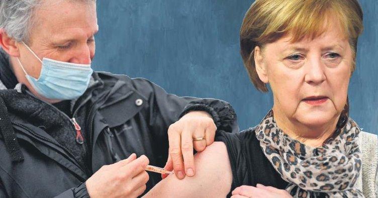 Aşı ol Merkel