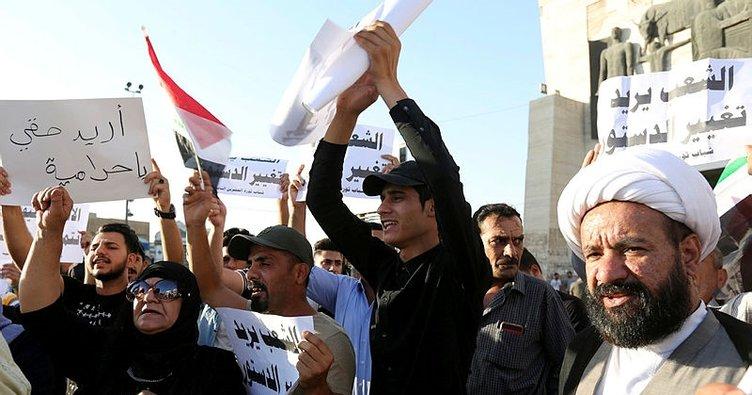 Iraklı protestocular havalimanını bastı!