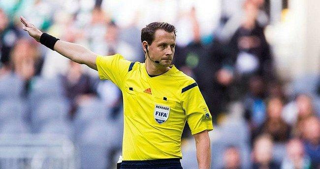 Başakşehir-PSG maçında İsveçli Andreas Ekberg düdük çalacak