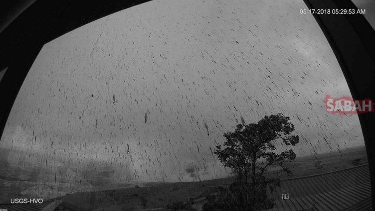 Kilauea Yanardağı'ndaki patlama ortaya bu görüntüleri çıkardı