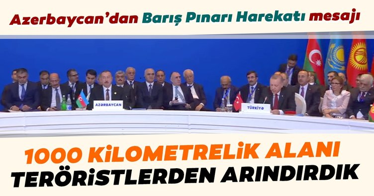 Başkan Erdoğan'dan Azerbaycan'da önemli açıklamalar
