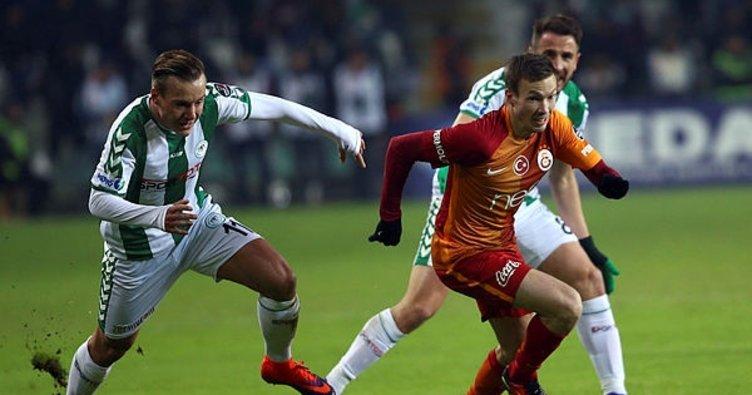 Lider Galatasaray, Konya deplasmanında