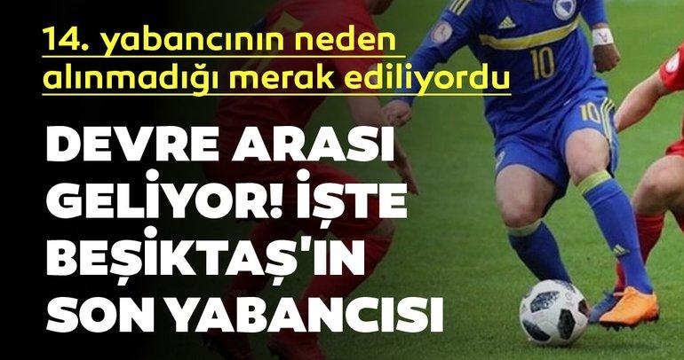 Beşiktaş haberleri! Beşiktaş'ın 14. yabancısı Ajdin Hasic