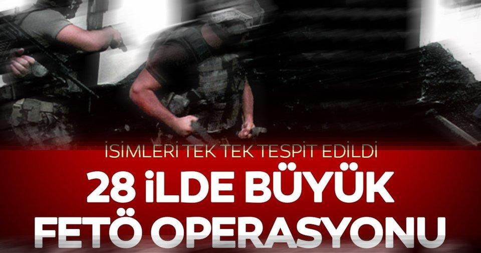 28 ilde büyük FETÖ operasyonu! 53 şüpheli için gözaltı kararı! ile ilgili görsel sonucu