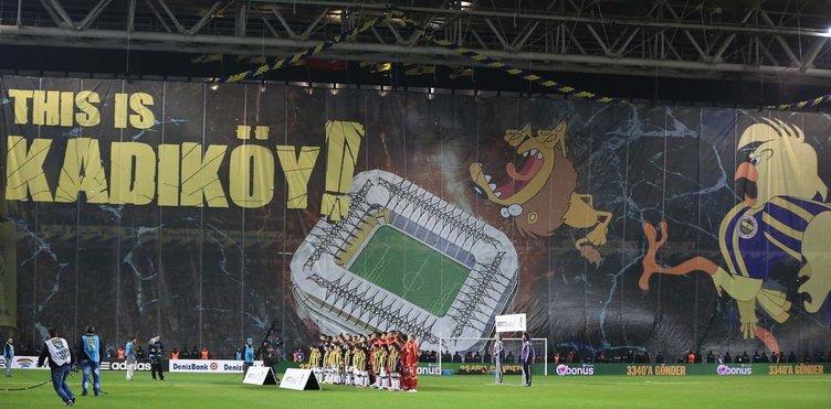 Fenerbahçe - Galatasaray maçının fotoğrafları