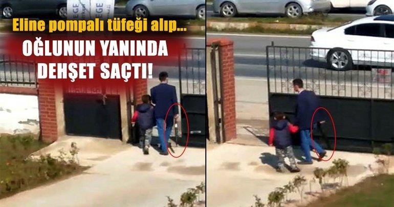 Aydın'da baba vahşeti! Pompalı tüfekle ortalığı birbirine kattı