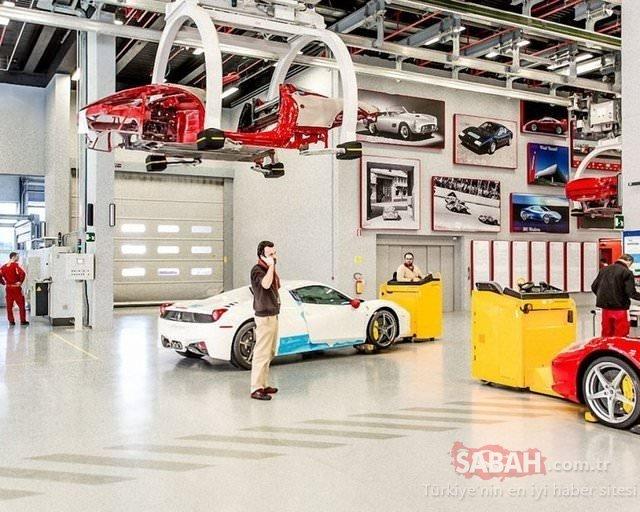 İşte Ferrari böyle üretiliyor!