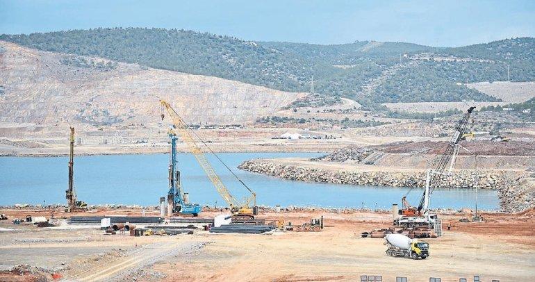 Akkuyu inşaatında 10 bin kişi çalışacak