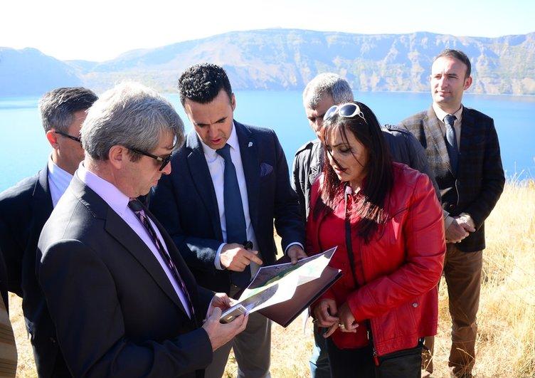 Nemrut Krater Gölü Unesco Yolunda