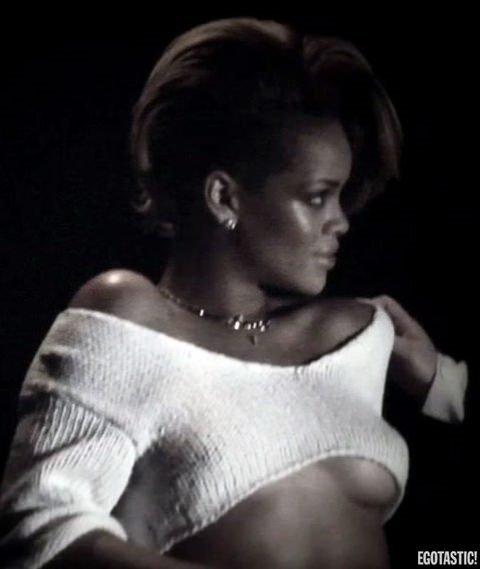 Rihanna'nın olay yaratan görüntüleri