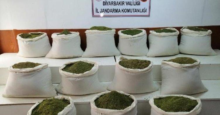 İçişleri Bakanlığı: Lice'de 1 ton uyuşturucu ele geçirildi