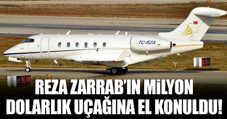 Reza Zarrab'ın milyon dolarlık uçağına el konuldu